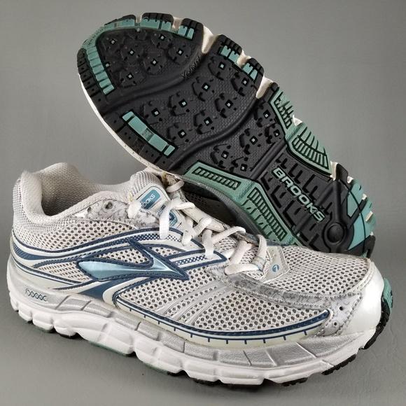 27177cba4bd Brooks Shoes - Brooks Addiction 10 Women s Athletic Shoes 8 White